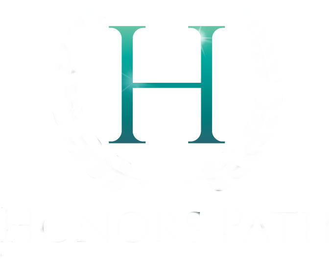 Honors Path white Logo